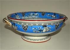 114 Minton Transferware Footed Bowl