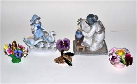 801: Lladro Japanese Figure and Others