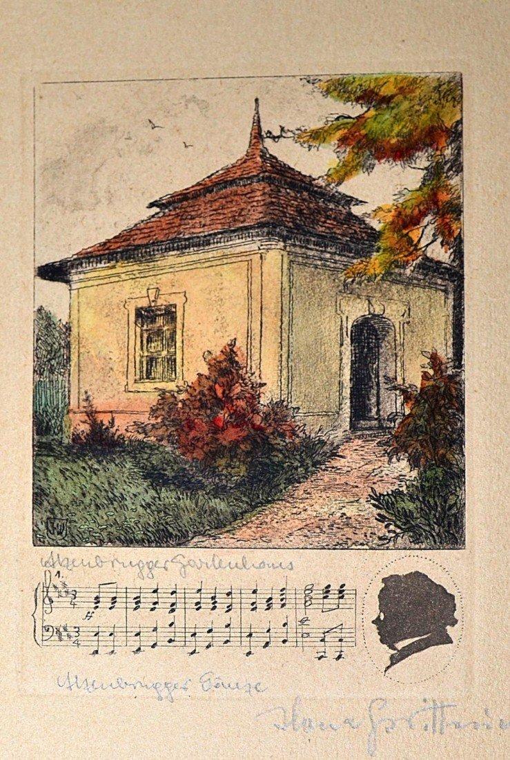 1: 1920s German Countryside Etchings (10) - 9