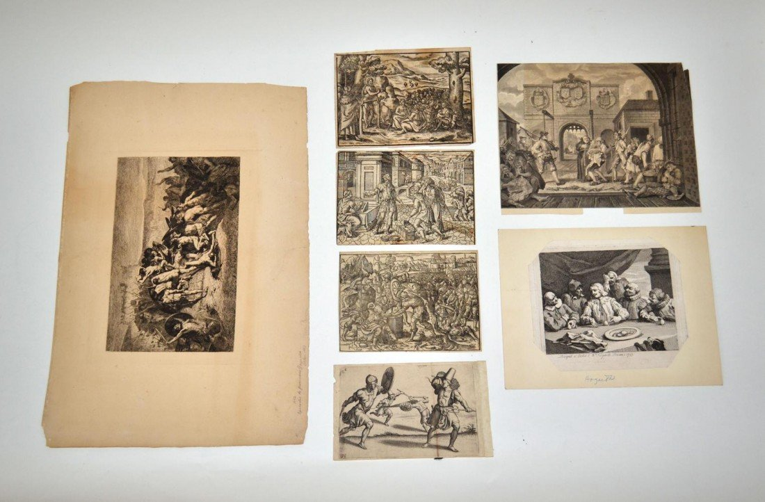 3: 18th & 19th C. Reproduction Etchings & Engravings