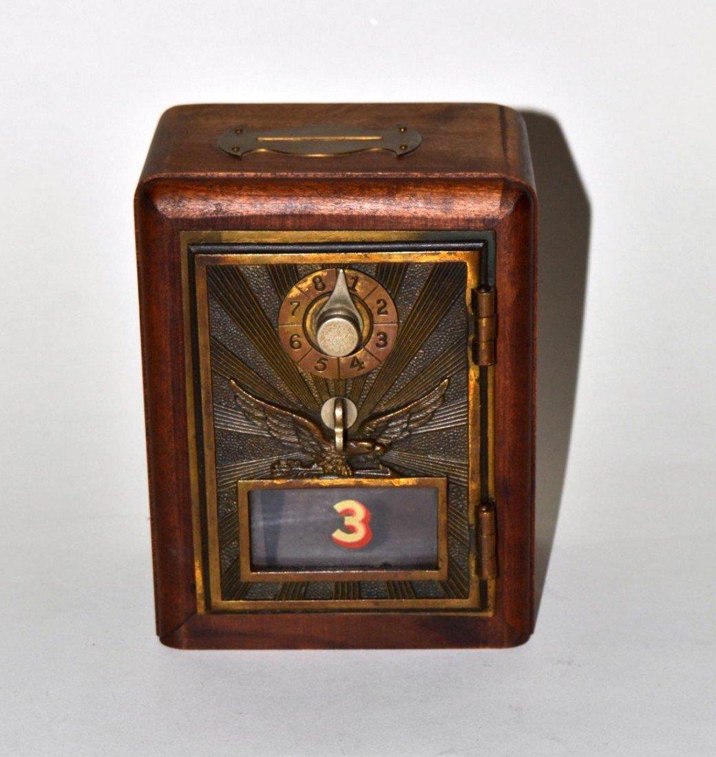17: Vintage Art Deco Post Box Bank - 2