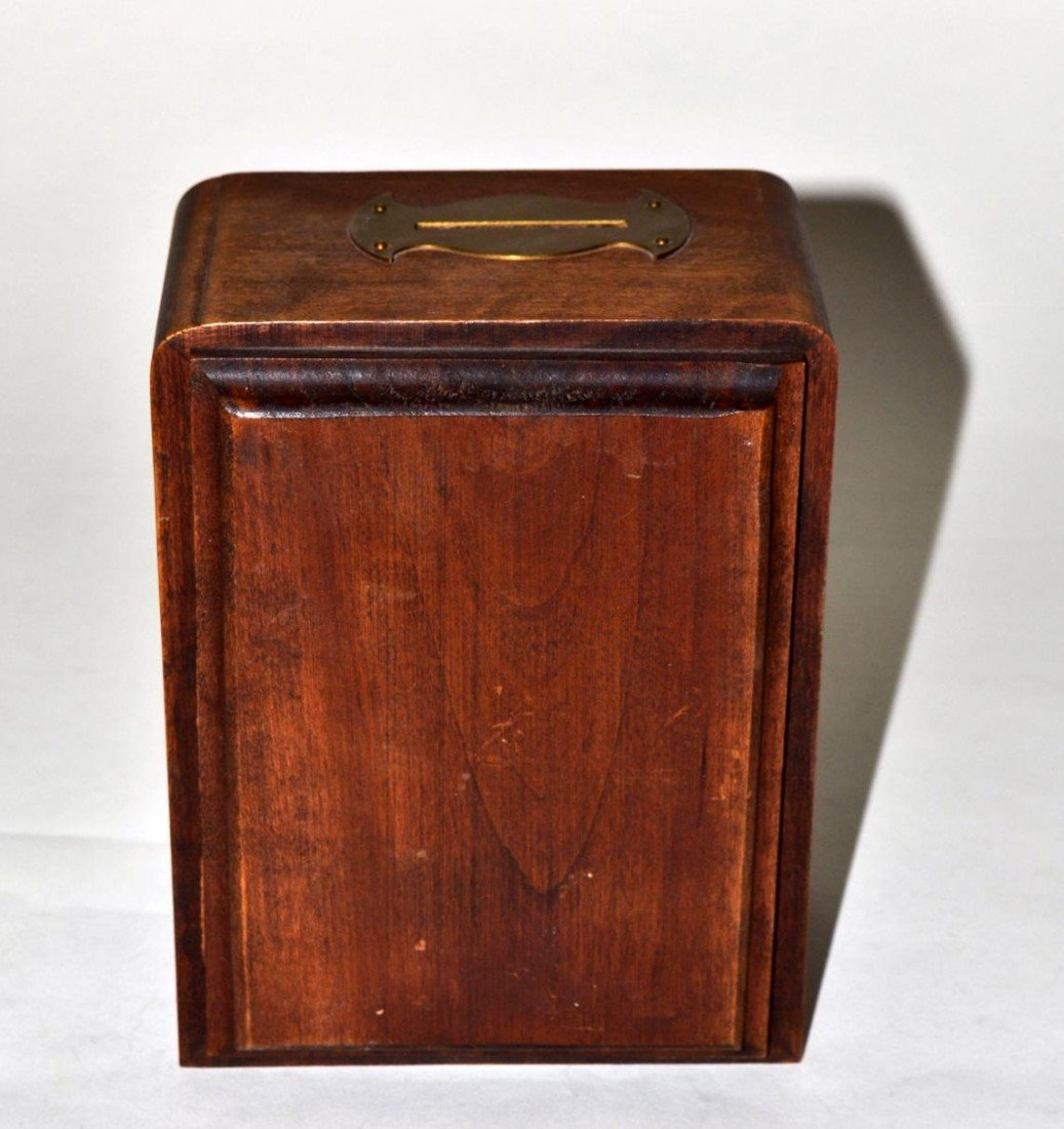 17: Vintage Art Deco Post Box Bank - 5
