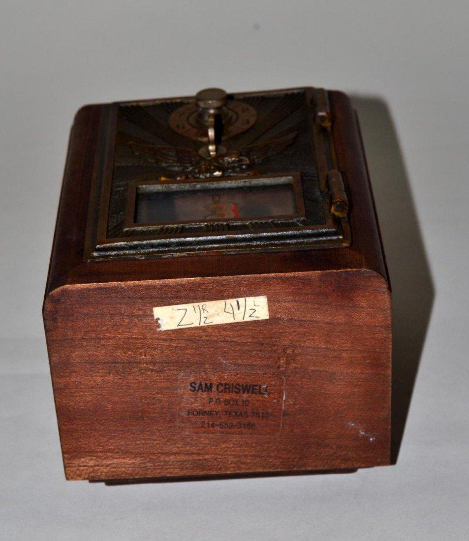 17: Vintage Art Deco Post Box Bank - 6