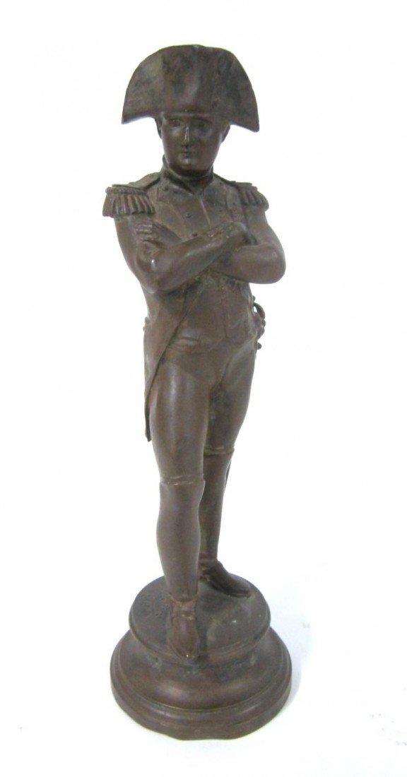 3: Antique Bronze Napoleon Sculpture