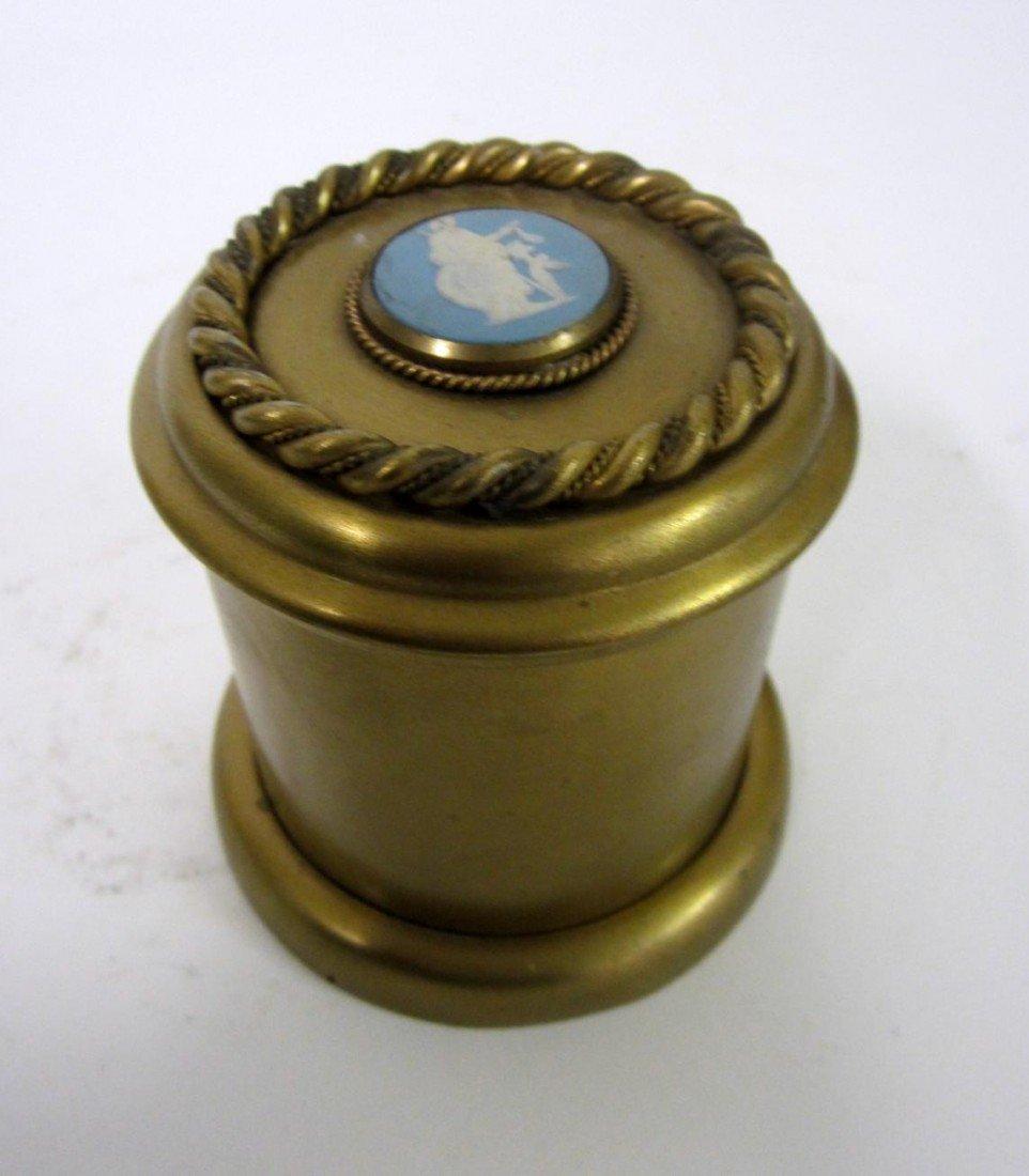 12: Tiffany & Co. Gilt Bronze Caddy