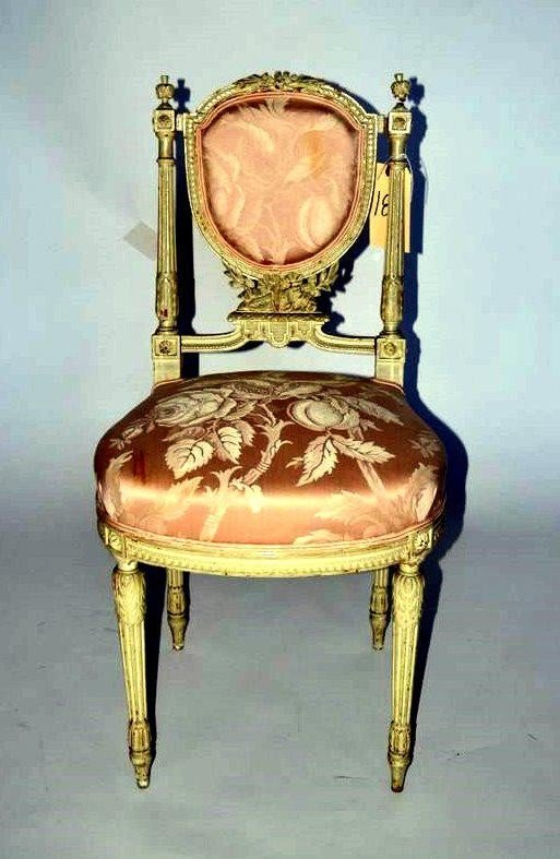 101: Louis XVI Style Side Chair