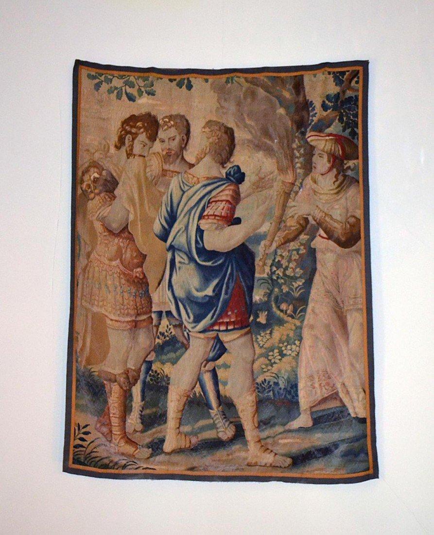 124: Antique Verdure Tapestry
