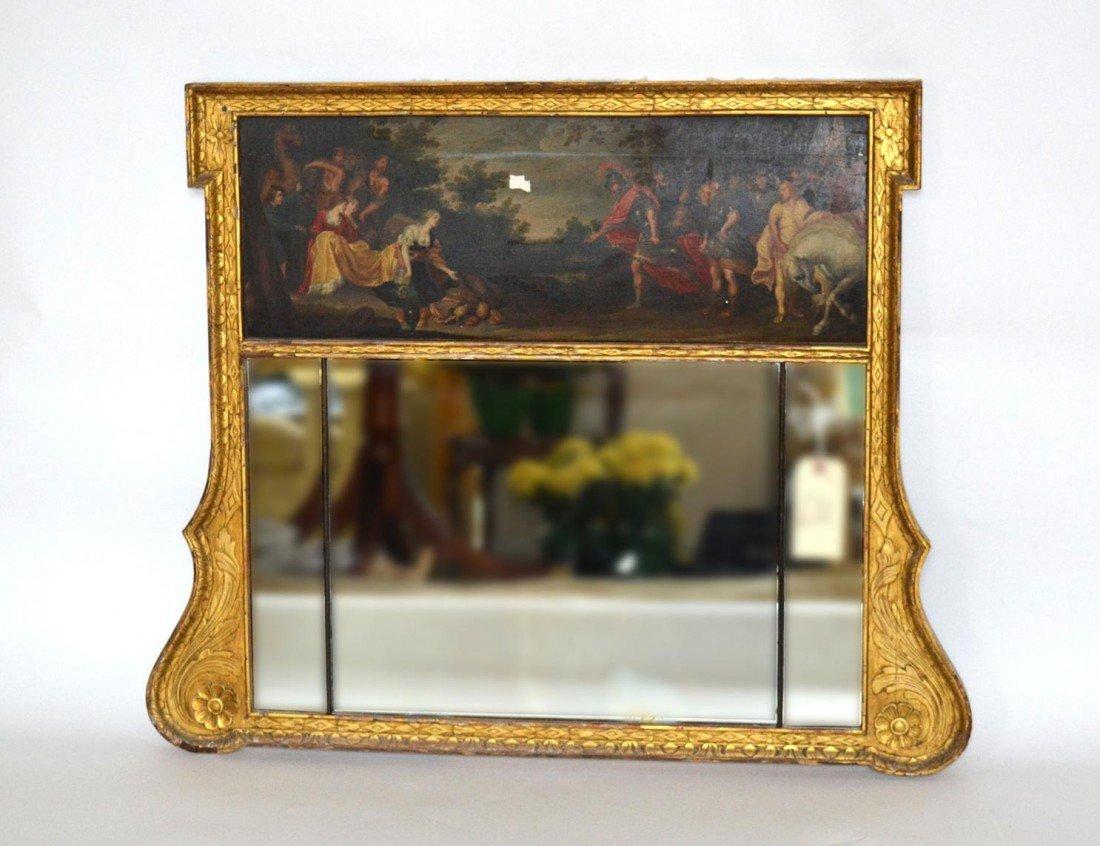 132: Trumeau Mirror