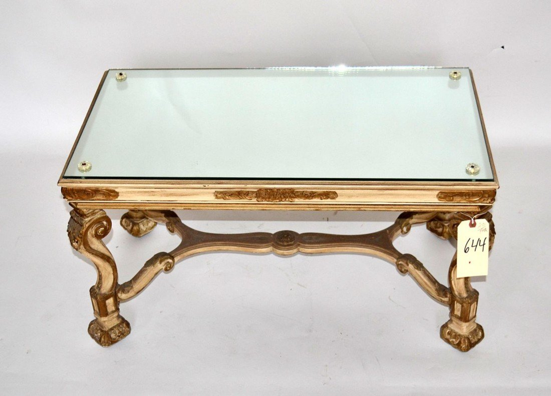 143: Rococo Style Cocktail Table