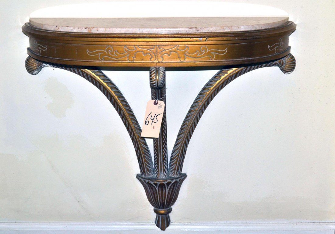 145: French Style Wheat Console