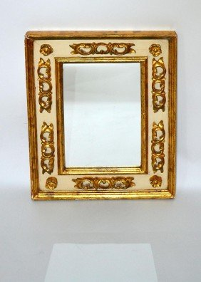 Rococo Style Carved Mirror
