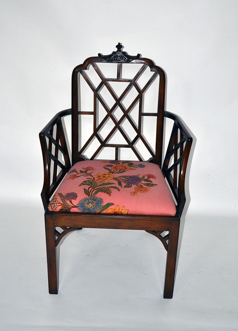 203: Chinese Chippendale Style Chair