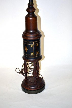 Three Assorted Lamps