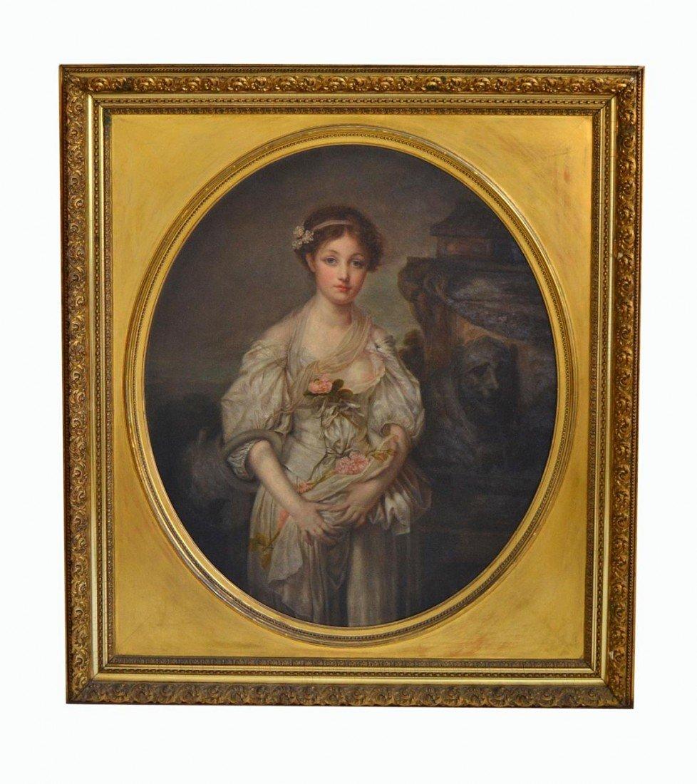 226: Antique Portrait of a Woman