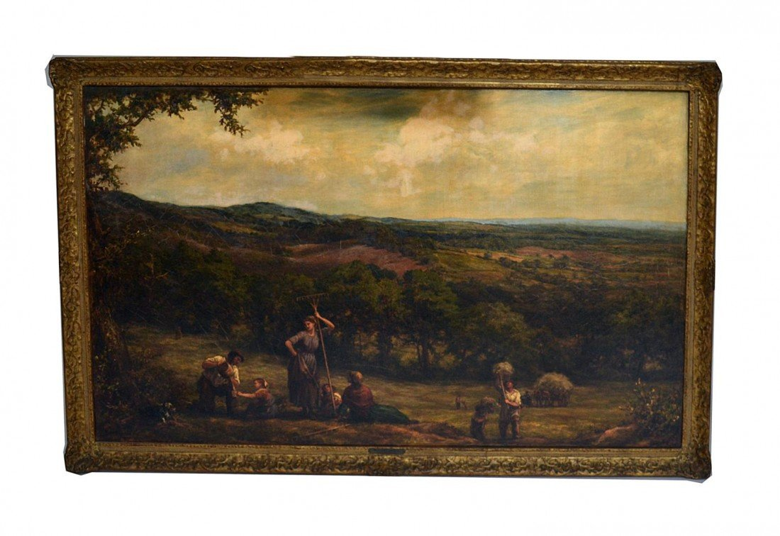 230: William Linnell, 1877 Landscape