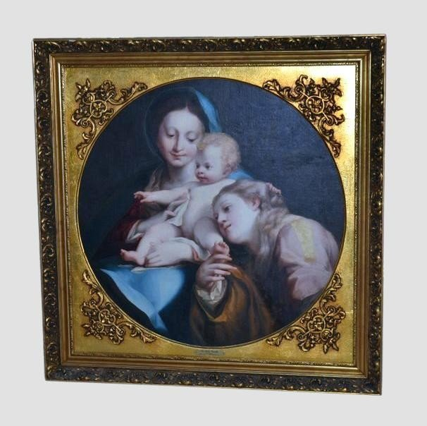 235: Oil on  Canvas, The Holy Family