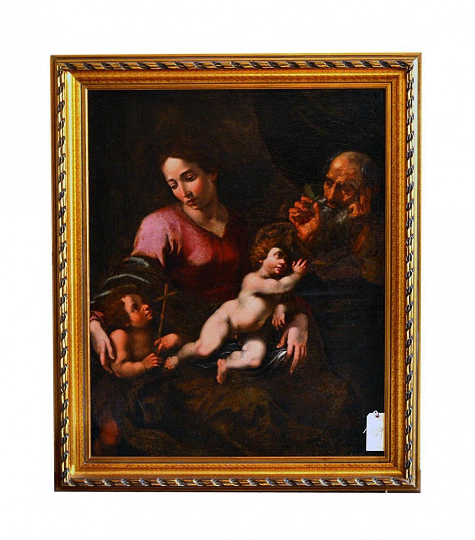 239: 18th C. Old Master Painting