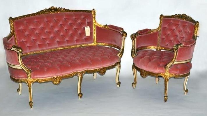241: Louis XV Suite, 2 Pieces