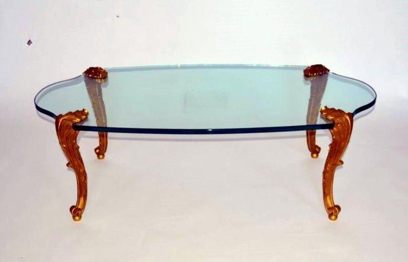 246: P.E. Guerin Bronze Dore Table