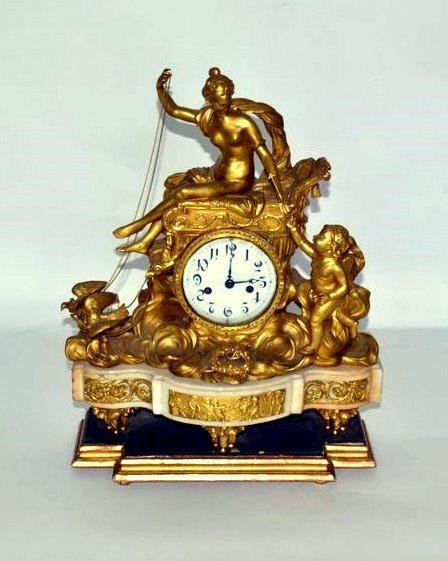 247: French Mantle Clock