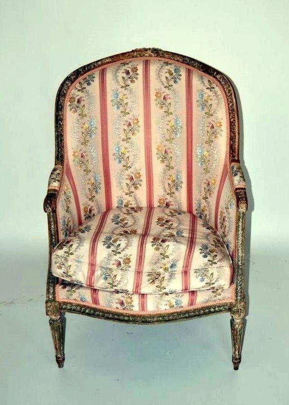257: Louis XVI Style Bergere