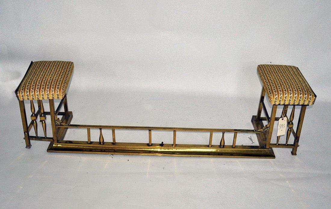 263: Brass Fireplace Surround