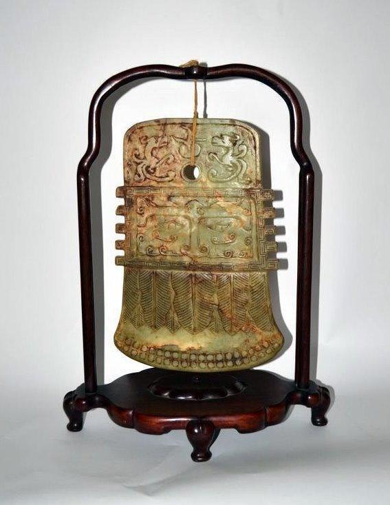 479: Antique Chinese Jade Relief