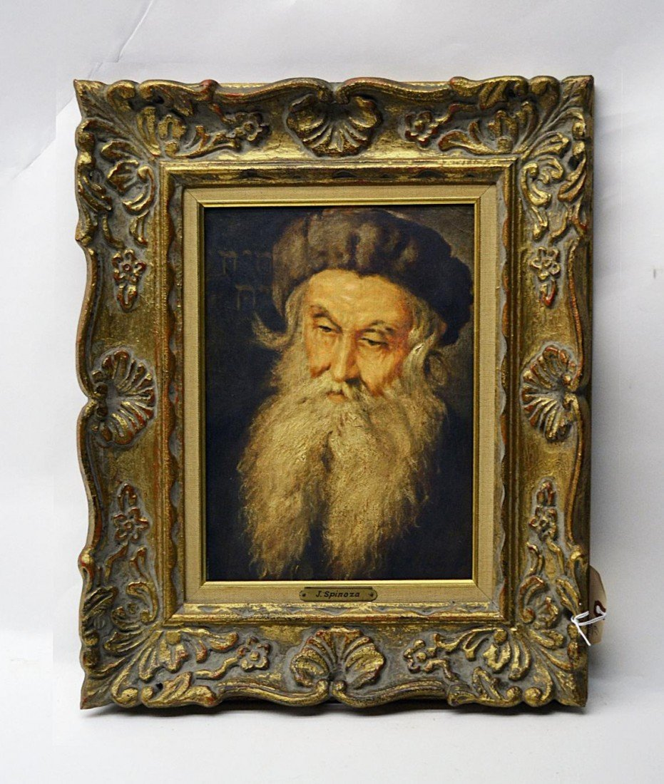 2: J. Spinoza, Portrait of a Rabbi