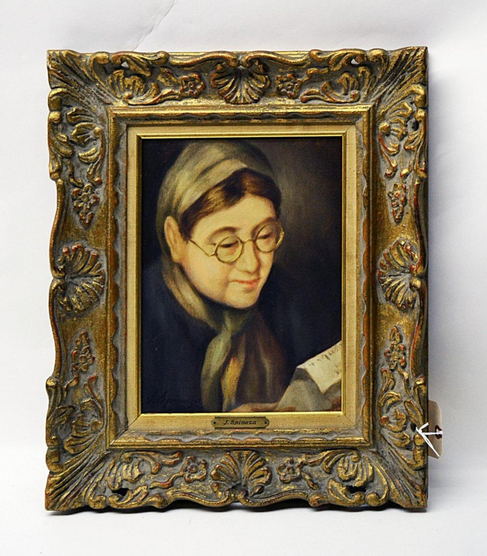 3: J. Spinoza, Portrait of a Woman