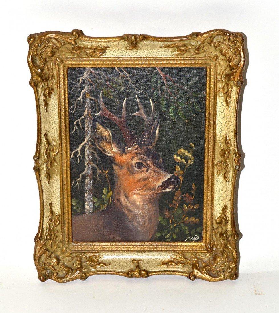 7: Oil on Canvas, Buck