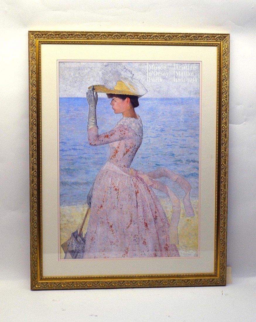 12: Print, Woman at The Shore