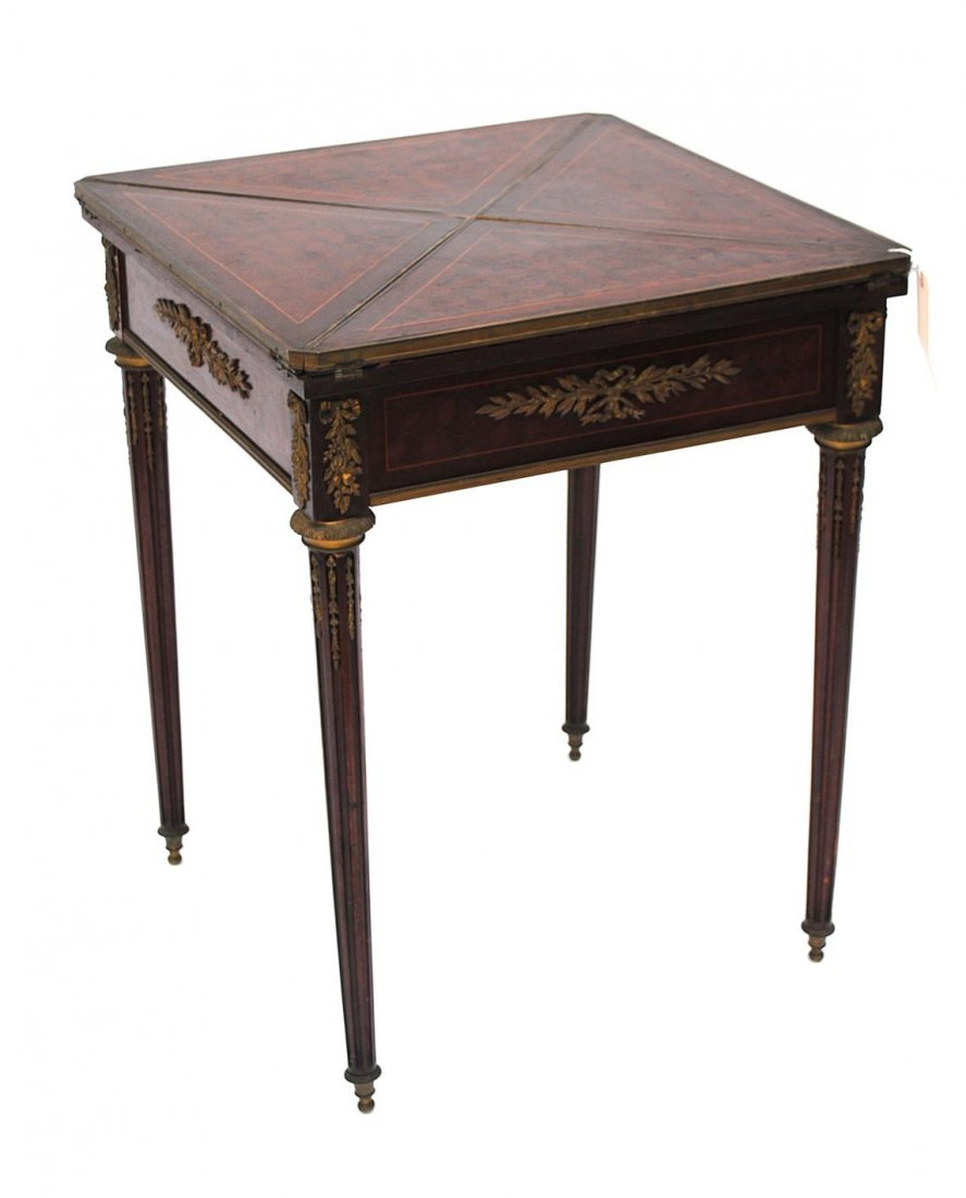 104: Empire Style Mechanical Game Table