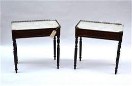 472 Pair of Antique Georgian Style Side Tables