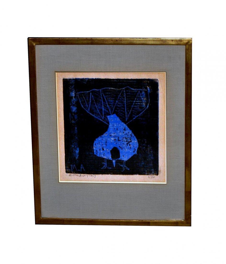774: Milton Avery Lithograph Bird