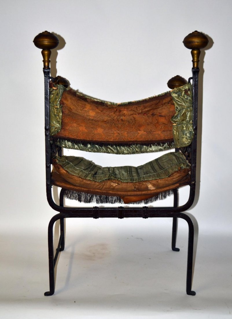 359: Iron Bishops Chair - 6