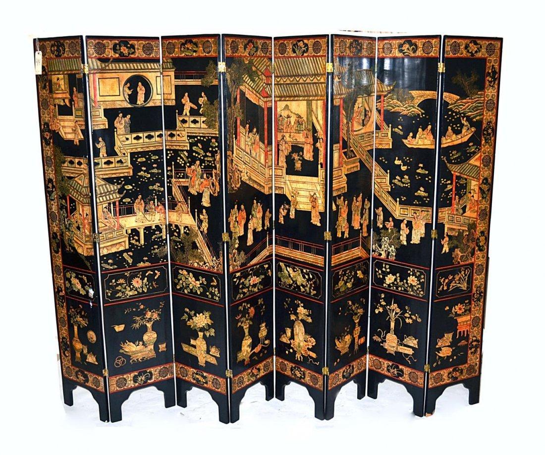 123: Antique Coromandel Screen