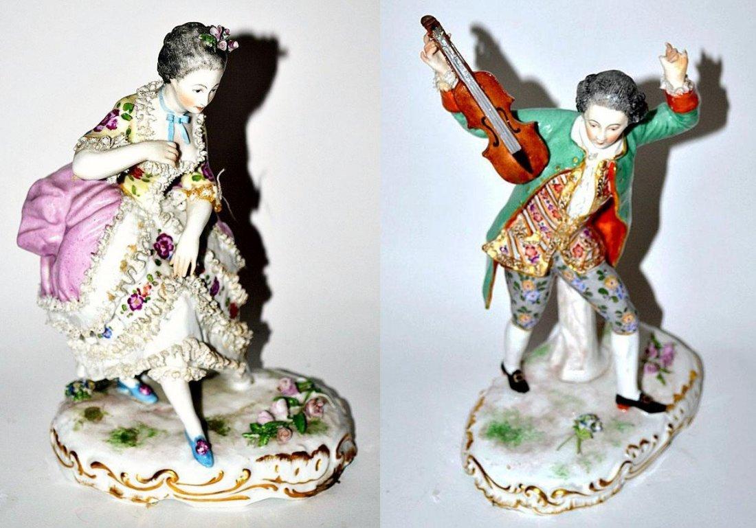 182: Pair of Porcelain Figures