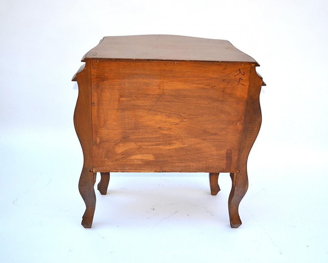 1: Pair of French Provencial Style End Tables - 6
