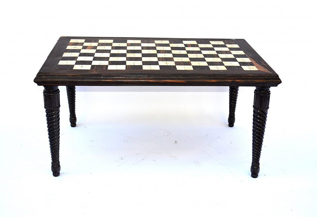 6: Anglo-Indian Inlay Low Table