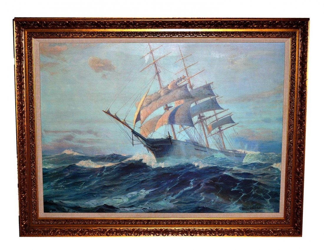 11: After Charles Robert Patterson, Repro on Canvas