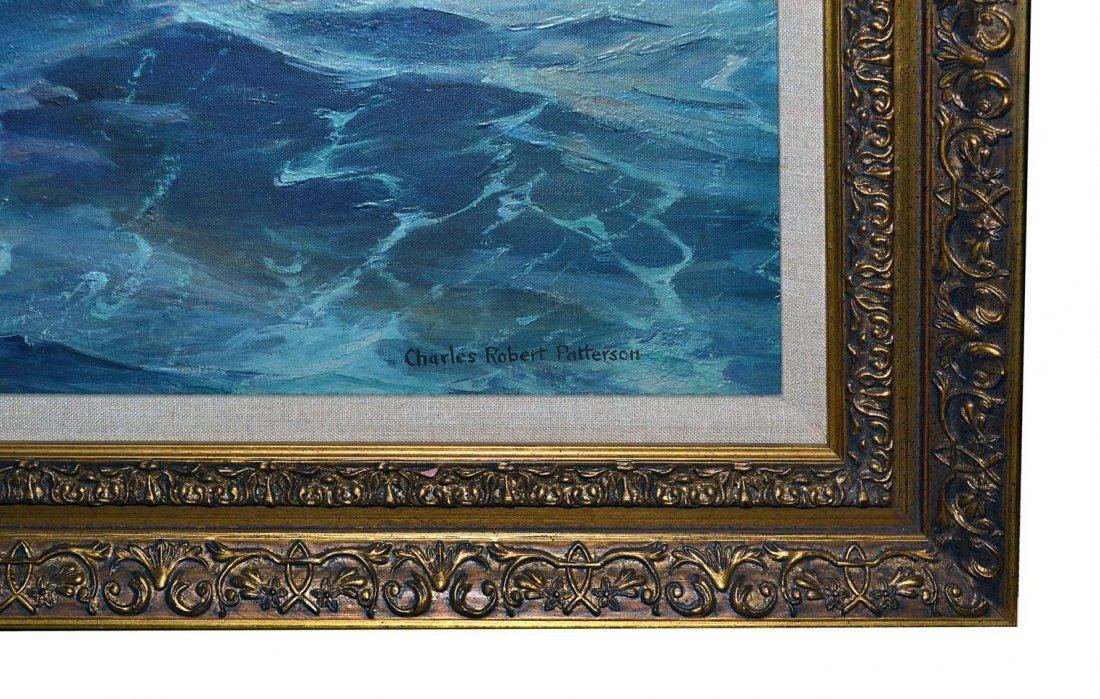 11: After Charles Robert Patterson, Repro on Canvas - 3