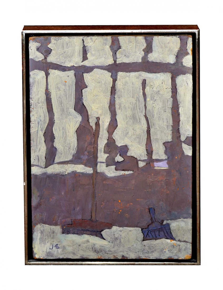 "133: Joseph Solman Oil on Board ""Dawn"""