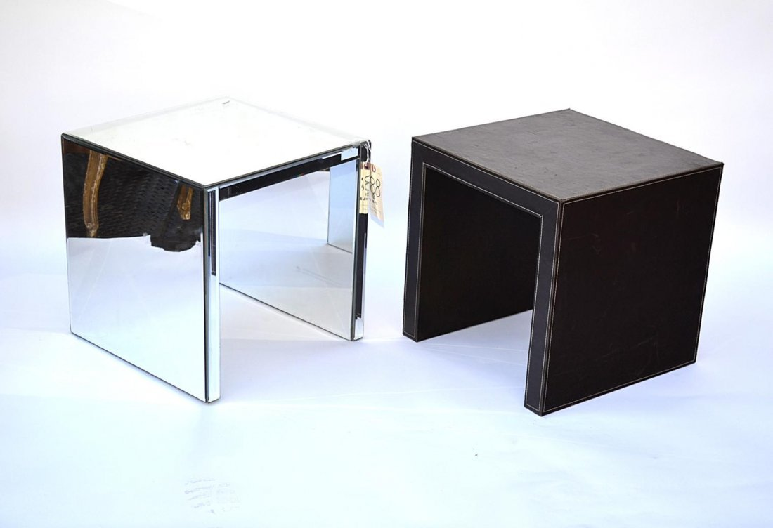 188: Two Contemporary Side Tables