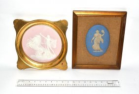 15: Wedgwood & Limoges Cameo Plaques