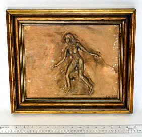 16: Siman-Glazed Terra-Cotta Plaque