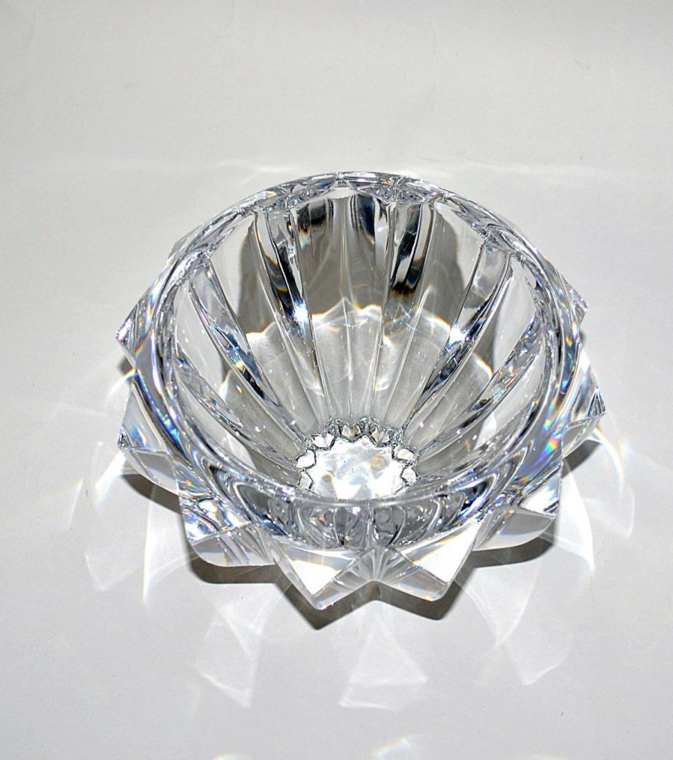 20: Three Modern Crystal Bowls - Lalique & Orrefors - 2