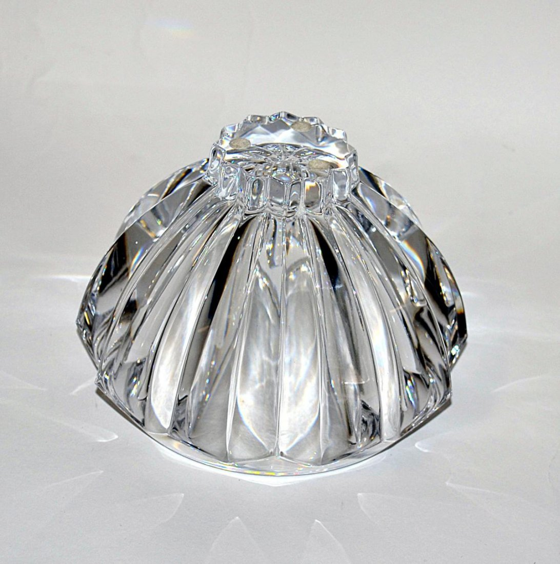 20: Three Modern Crystal Bowls - Lalique & Orrefors - 3