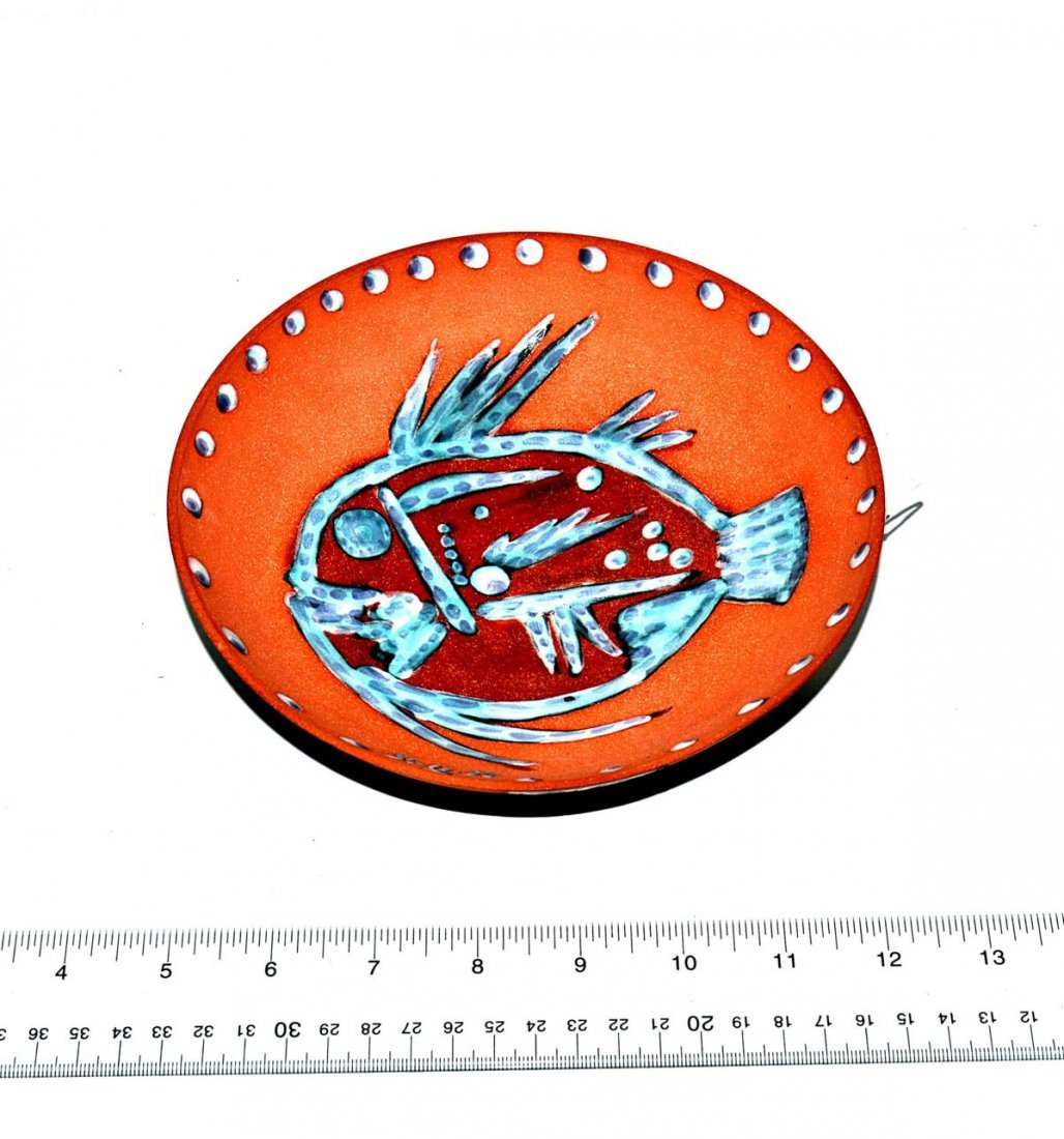 187: Pablo Picasso Glazed Terra Cotta Bowl