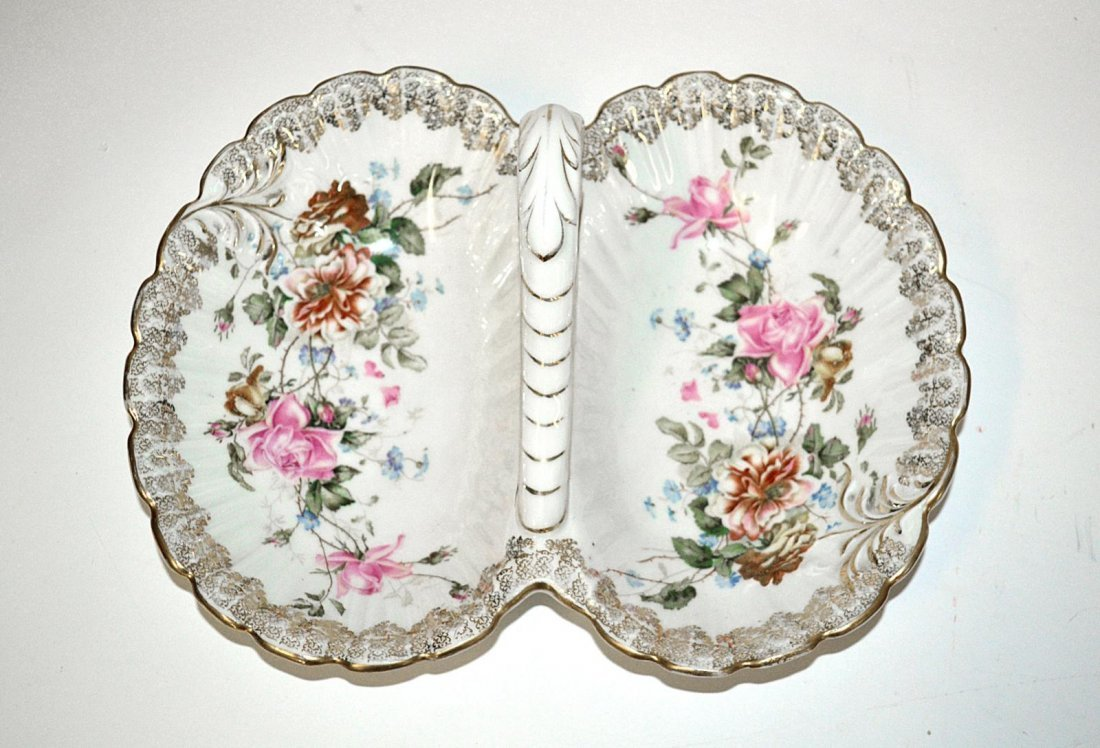 74: Two Porcelain Candy Dishes - 3