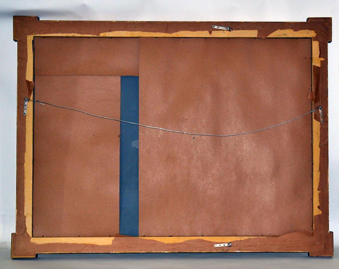 75: Italian Rectangular Parcel-Gilt Mirror - 4